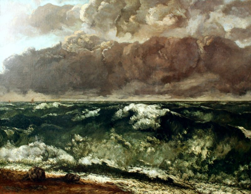One of Courbet's sea-themed works