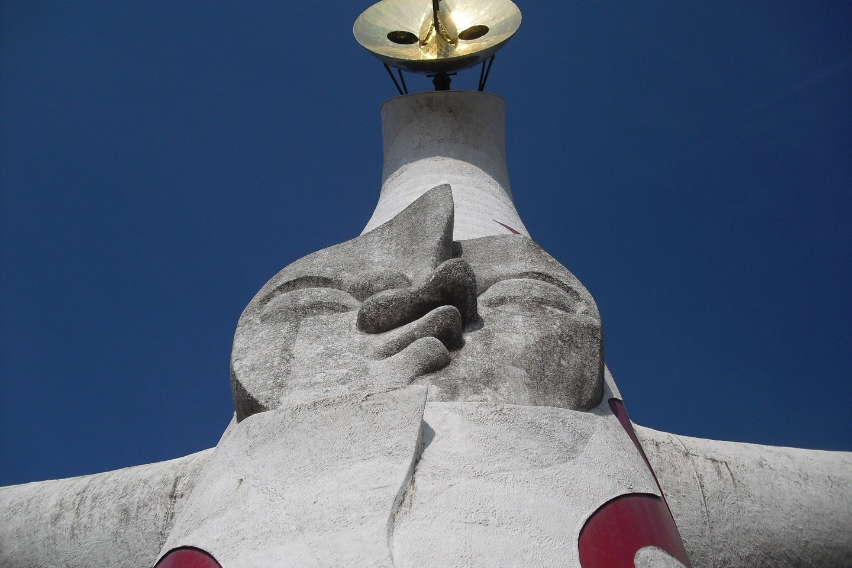 Taro Okamoto\'s Tower of the Sun was built for Expo \'70 in Osaka