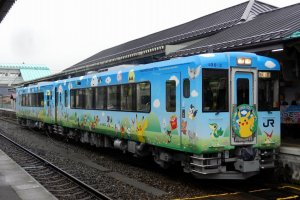 Another example of a Pokemon With You train carriage