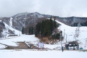 NASPA ski slopes in mid December.