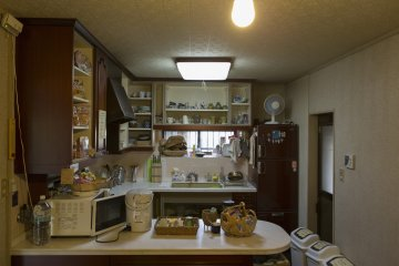 A large kitchen is available with all the appliances you'll need to cook during your stay
