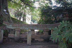Ash-buried Kurokami Shrine