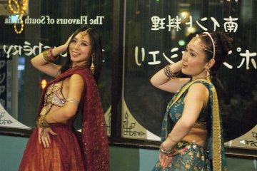 Pondichery Indian Dancers