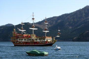 Hakone Sightseeing Cruise ships and boats