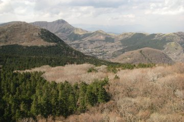 Spring view of Hakone