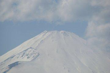 The top of Fuji-san