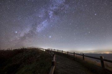 Kozushima's night skies