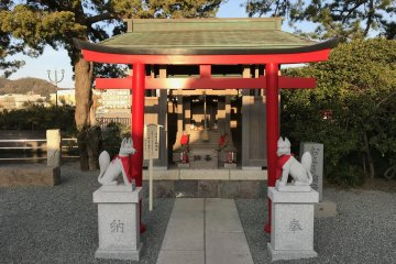 Oseki Inari, the shrine you want to visit should you be having a bad cough!