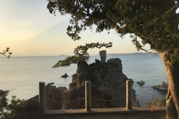 The senganmatsu viewed from above. Can you spot Enoshima?