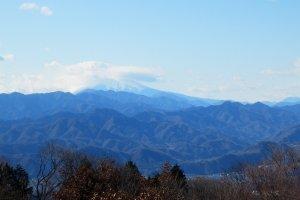 View towards Mount Fuji
