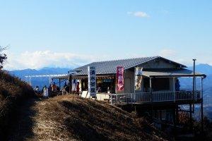 Tea house on Mount Jinba