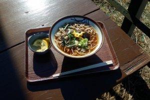 Bowl of Jinba soba