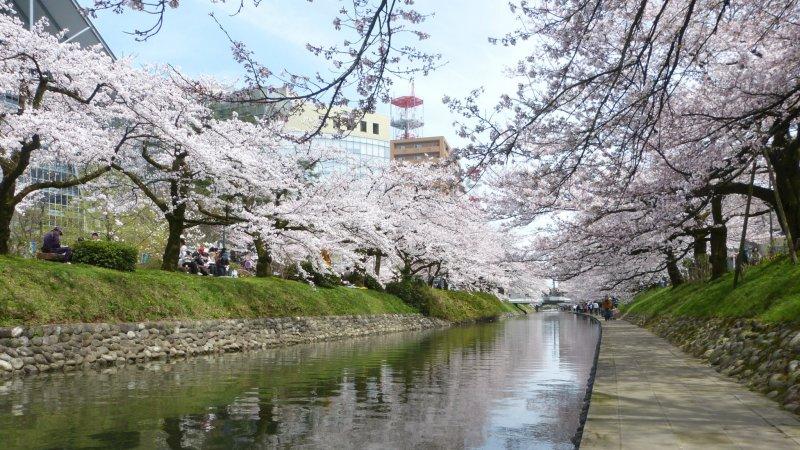 Toyama's Matsukawa Park