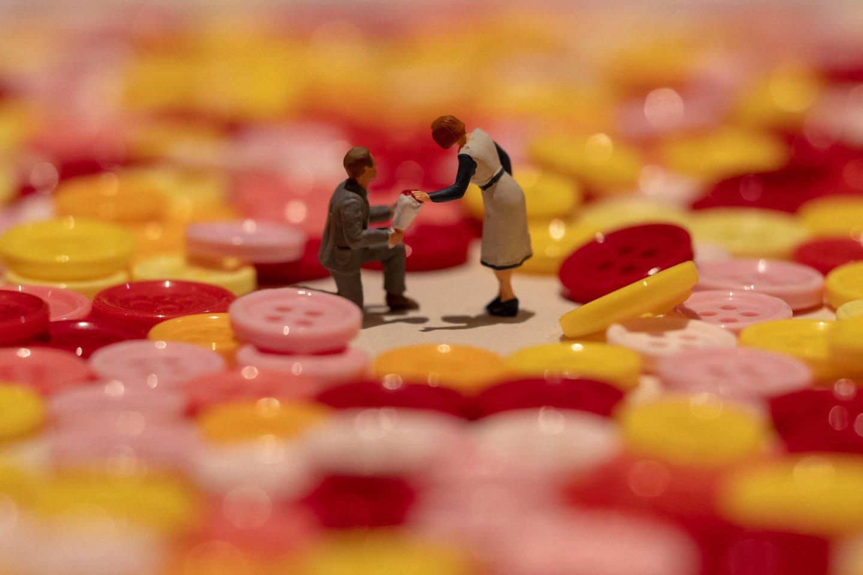 An example of Tatsuya Tanaka\'s fun miniature work