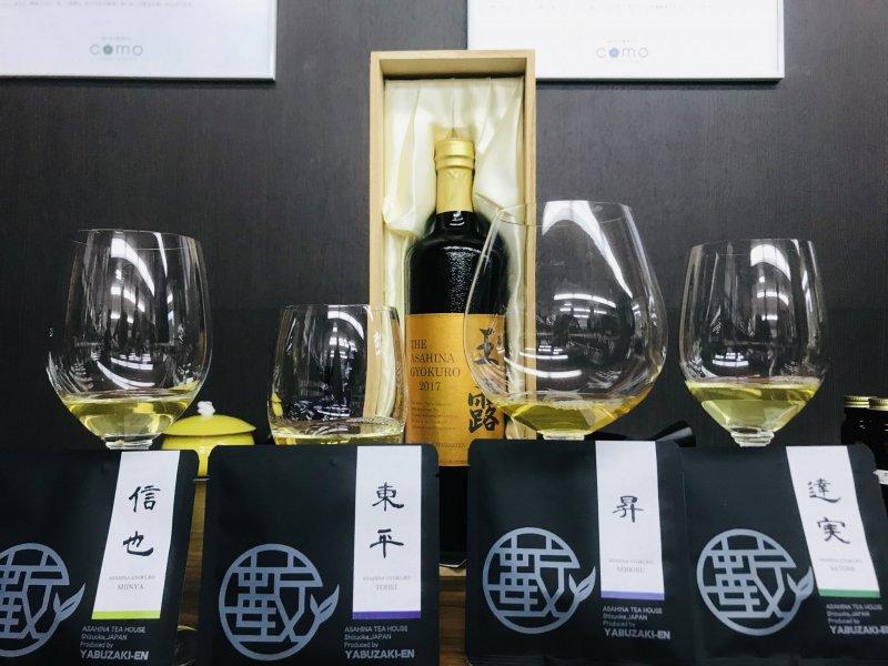 The finest of Gyokuro green teas! Each bottle is ~US$200!!!