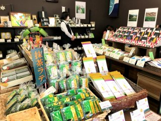 The shop is full of different tea blends and other related products! A dangerous spot for any tea lover!