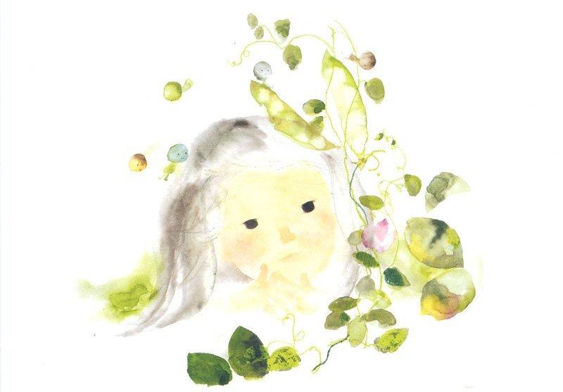 An example of Chihiro Iwasaki's art style
