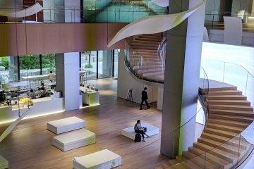 Shiseido Global Innovation Center, in Yokohama
