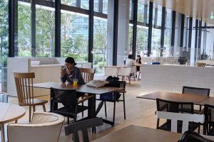 S/Parks Cafe, at Shiseido Global Innovation Center