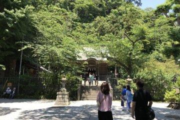 The Goryo Jinja grounds