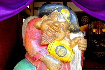 Daikokuten, god of wealth, at Hase Dera