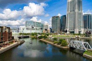 Yokohama Air Cabin, Japan's first permanent urban gondola will commence on April 22, 2021.