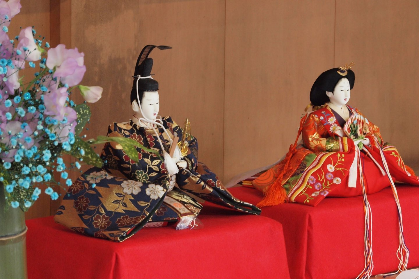 Hina dolls are displayed across many households in Japan for Girls\' Day on March 3rd.