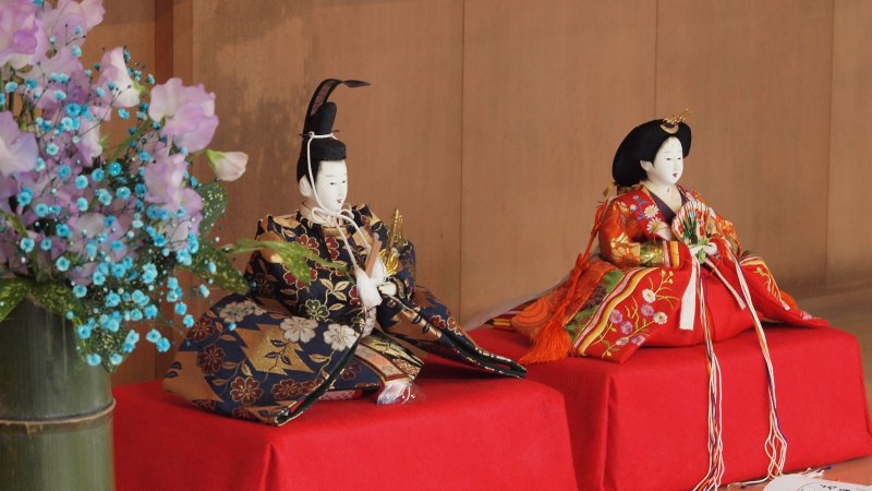 Hina dolls are displayed across many households in Japan for Girls' Day on March 3rd.