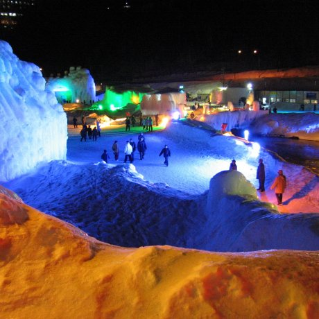 Sounkyo Onsen Ice Fall Festival