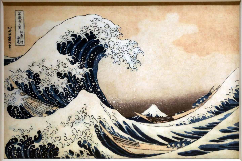 Hokusai\'s famous \