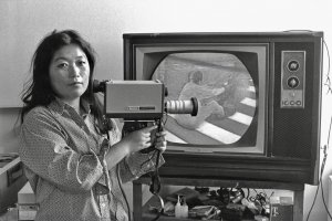 Shigeko Kubota was seen as a pioneer of the video sculpture field