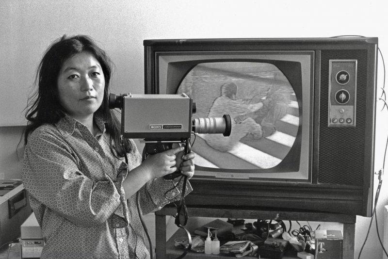 Shigeko Kubota was seen as a pioneer of the video sculpture field