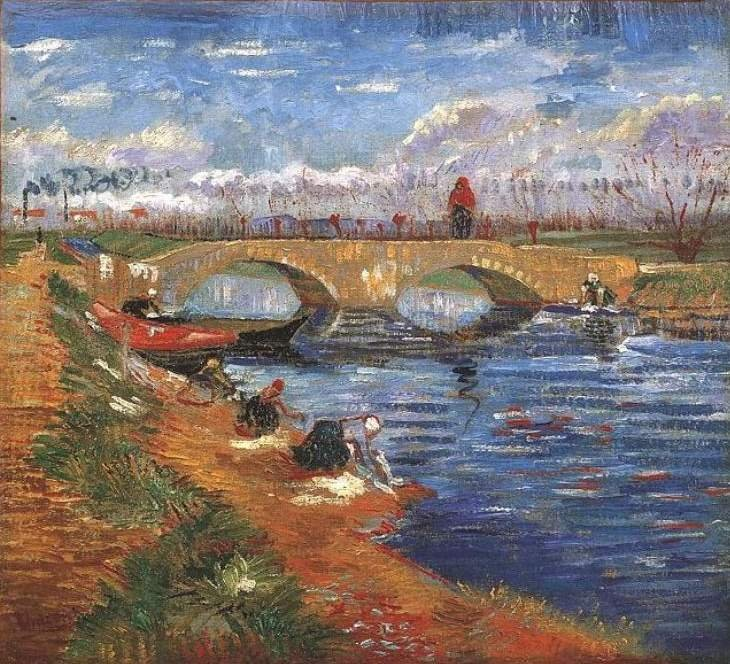 """Vincent Van Gogh's """"The Gleize Bridge over the Vigueirat Canal"""" will be displayed at the event"""