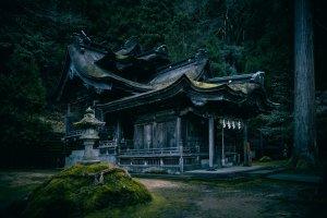 Okamot-Otaki Shrine - Unique Double Rooftop