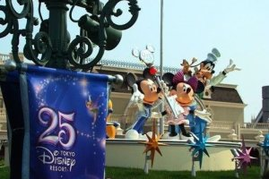 东京迪斯尼乐园25周年庆典