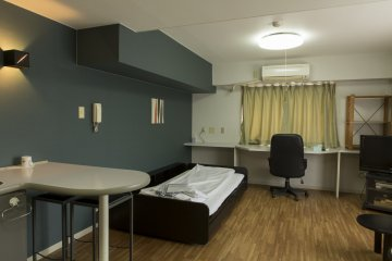 The size is just one aspect of the room that will make your stay a comfortable one