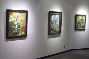 Some paintings by Nakagawa