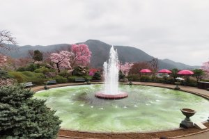 Hakone Gora Park Fountain