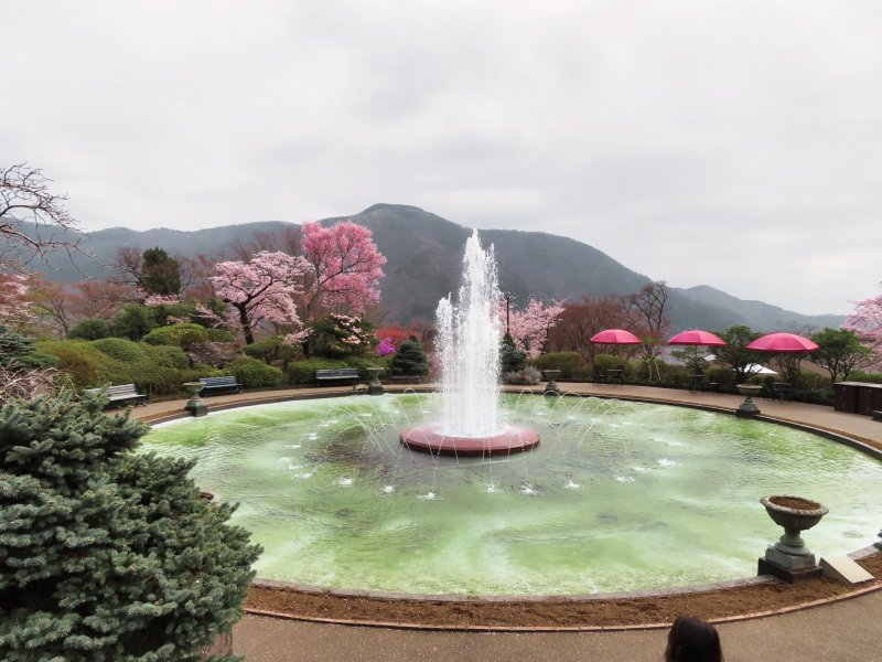 Hakone Gora Park Fountain