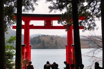 Hakone Lakeside Torii