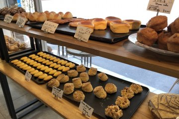 Assorted bakery delights