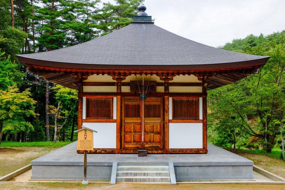 Um dos meus edifícios favoritos do complexo do templo