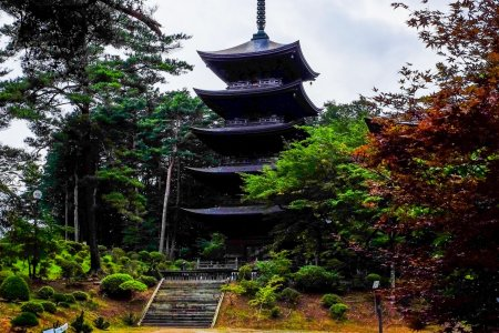 Le Temple Fukusen-ji