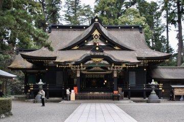 Katori Jingu haiden, the main shrine