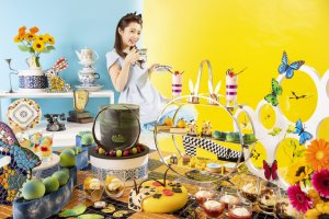 Alice in Wonderland comes to life through this Lost in Europe themed afternoon tea