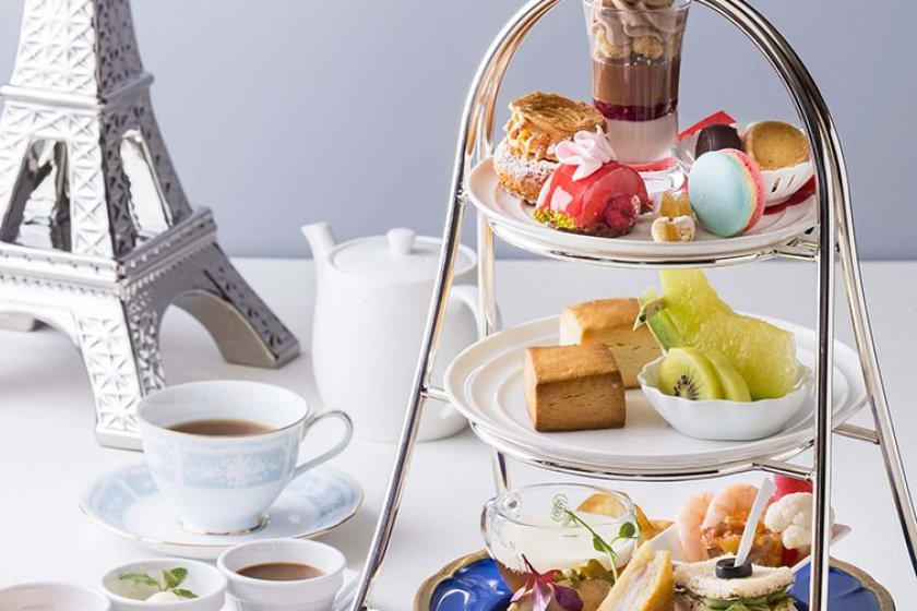 The French-themed afternoon tea runs for a limited time only