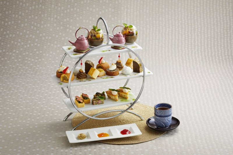 The event includes a wide range of tea-infused foods