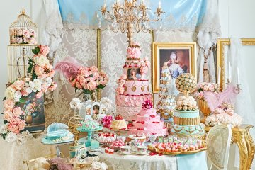 Marie Antoinette Afternoon Tea