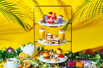 Summer Sparkle Afternoon Tea