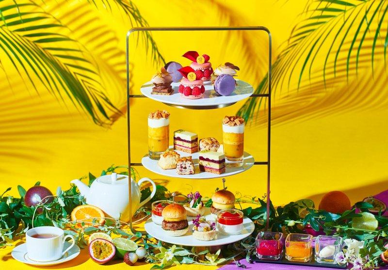 This summer afternoon tea is a collaborative effort between Pierre Hermé and Junji Tokunaga